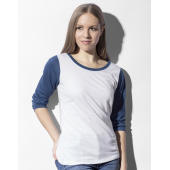 Jessica Women's Baseball T-Shirt