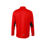 Men's Running Shirt - tomaat/zwart