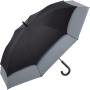AC golf umbrella FARE®-Stretch 360 - black-grey
