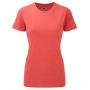 Ladies HD T-Shirt L Red Marl
