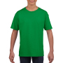 Gildan T-shirt SoftStyle SS for kids Irish Green L