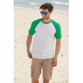 Valueweight short sleeve baseball t