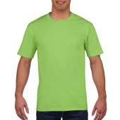 Gildan T-shirt Premium Cotton Crewneck SS for him Lime M