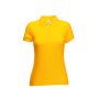 65/35  Lady-Fit Polo, Sunflower, XXL, FOL