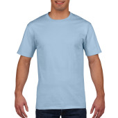 Gildan T-shirt Premium Cotton Crewneck SS for him Light Blue XXL