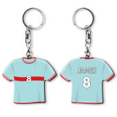 Key Ring Hard Double with doming, 10-20 cm2