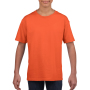 Gildan T-shirt SoftStyle SS for kids Orange XL