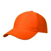 Basic Brushed Cap Oranje