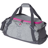 Two-tone PVC (300D) sports/travel bag