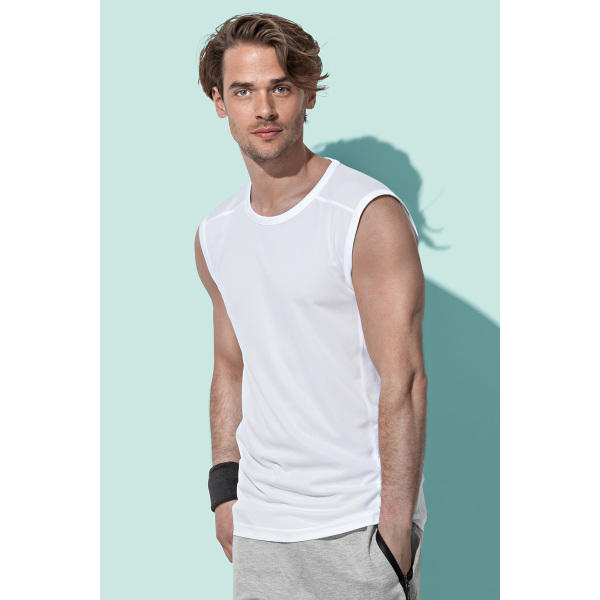Stedman T-shirt Mesh ActiveDry Sleeveless