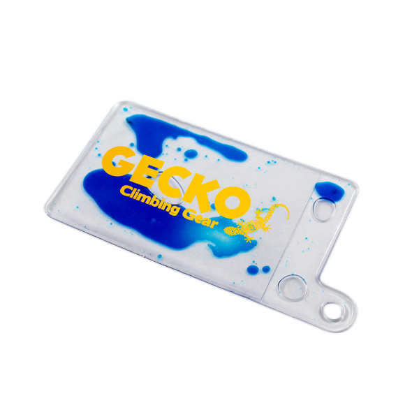 Bedrukte Aqua Luggage Tag