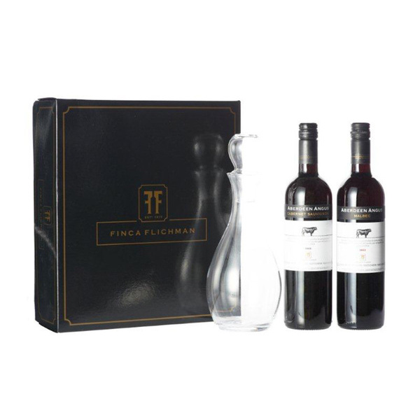 Finca Flichman Decanter Box Aberdeen Angus