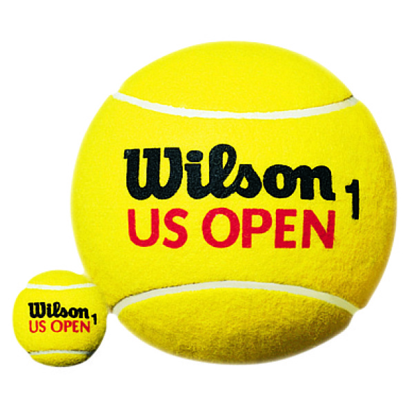 Wilson U.S. Open Giant 9inch Tennisball Yellow