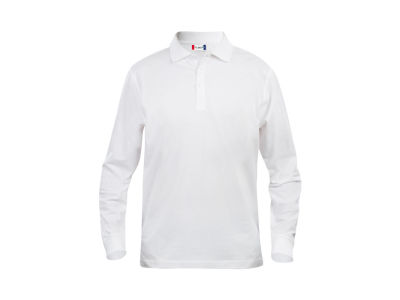 Clique Basic Polo L/S Junior Kids