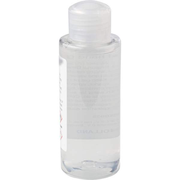 Handgel fles (100 ml) met 70% alcohol