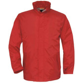 Dames pullover met v-hals red xl