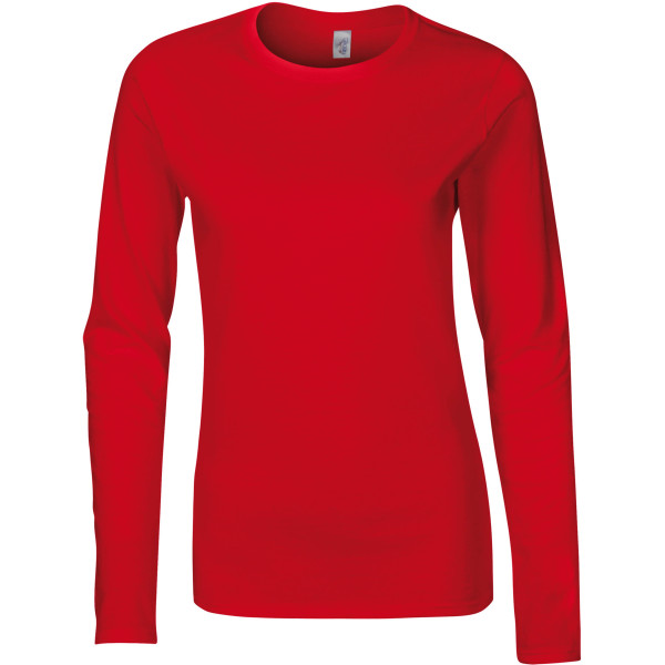 Ladies' softstyle® long-sleeved t-shirt