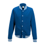 College Jacket XS Royal Blue