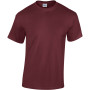 Heavy cotton™classic fit adult t-shirt maroon 3xl