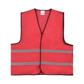 Promo Vest Polyester XL Rood