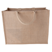 Jute shopper liggend model 240 gr/m2