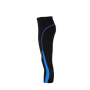 Ladies' Running Tights 3/4 - zwart/atlatisch