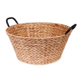 SENZA Hyacinth Basket with handles