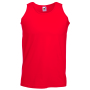 Valueweight Athletic Vest, Red, 3XL, FOL