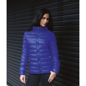 Womens snow bird hooded jacket