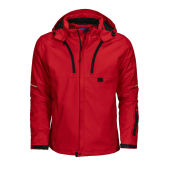 3407 3 LAYER PADDED JACKET RED 2XL