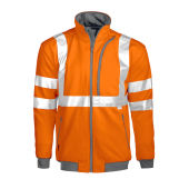PROJOB 6103 SWEATSHIRT HV ORANGE CL 3 M