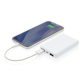 5.000 mAh Antimicrobiële powerbank, wit