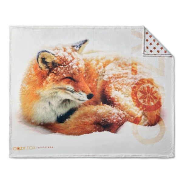 Digital printed Flannel fleece blanket