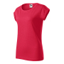 Fusion T-shirt Ladies red melange M