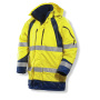 1254 Winter parkas HV Yellow/Navy xxxl