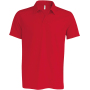 Herensportpolo red xs