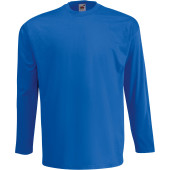 Valueweight long sleeve t (61-038-0) royal blue m