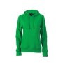 Ladies' Hooded Sweat varengroen