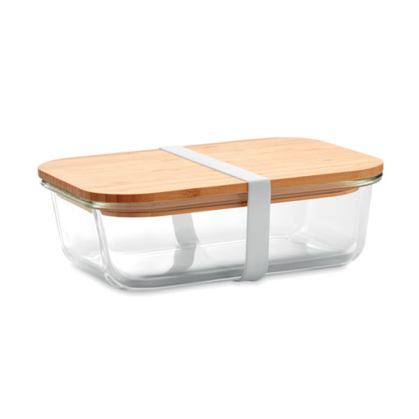 TUNDRA LUNCHBOX - Glass lunchbox with bamboo lid