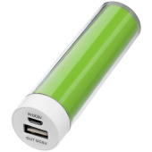 2 200 mAh Dash powerbank - Limegrön