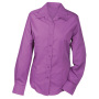 Ladies' Promotion Blouse Long-Sleeved paars