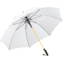 AC alu golf umbrella FARE®-Precious - white/gold