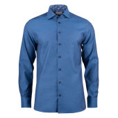 J. HARVEST & FROST PURPLE BOW 142 SLIM SHIRT