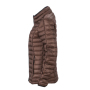 Ladies' Quilted Down Jacket - koffie/zwart