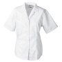 Ladies' Business Blouse Short-Sleeved wit