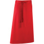 'colours' bar apron red one size