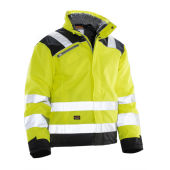 Jobman 1346 Hi-vis winter jacket star geel/zwart xs