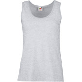 Lady-fit valueweight vest (61-376-0) heather grey l