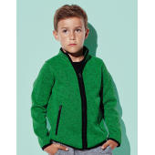 Active Knit Fleece Jacket Kids