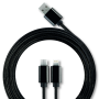 3-in-1 cable  (2-in-1 and type C)